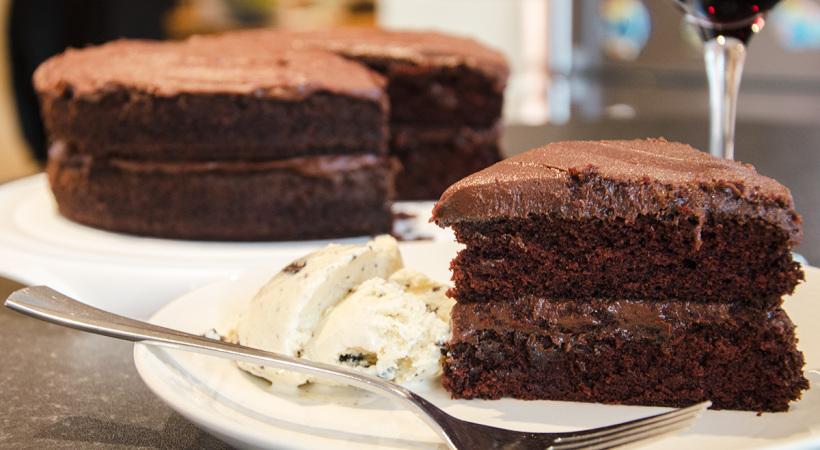 La recette du fondant au chocolat sans beurre mises en - Recette du fondant au chocolat ...